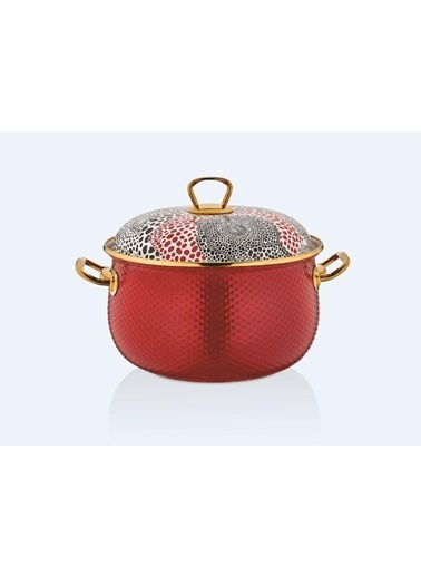 Schafer SCHAFER-GLAZEYOGURTKRMZ Schafer Glaze Yoğurt Tencere 2 Parça 22 Cm Kırmızı Renkli